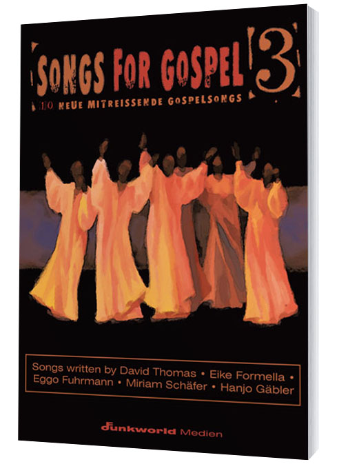 Songs for Gospel 3 Songbook