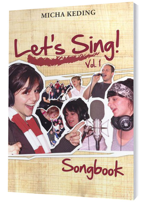 Micha Keding – Let's sing Vol. 1 Songbook