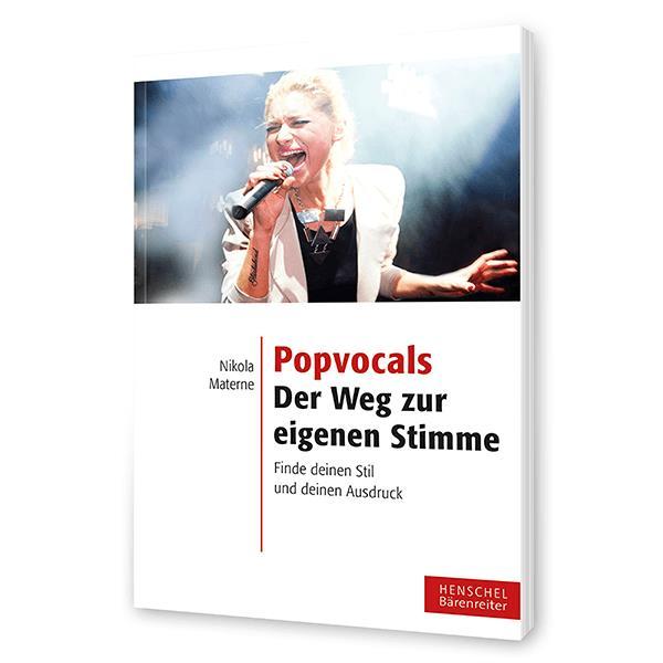 Popvocals - der Weg zur eigenen Stimme Lehrbuch