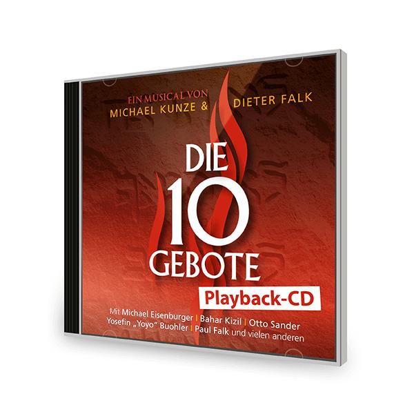 Die 10 Gebote Playback-CD