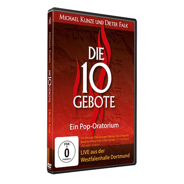 Die 10 Gebote Live-DVD