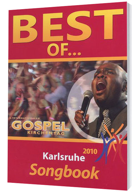 BEST OF GOSPELKIRCHENTAG 2010 – SONGBOOK