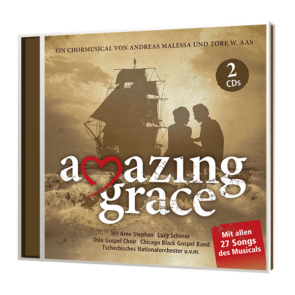 Amazing Grace - DOPPEL-CD