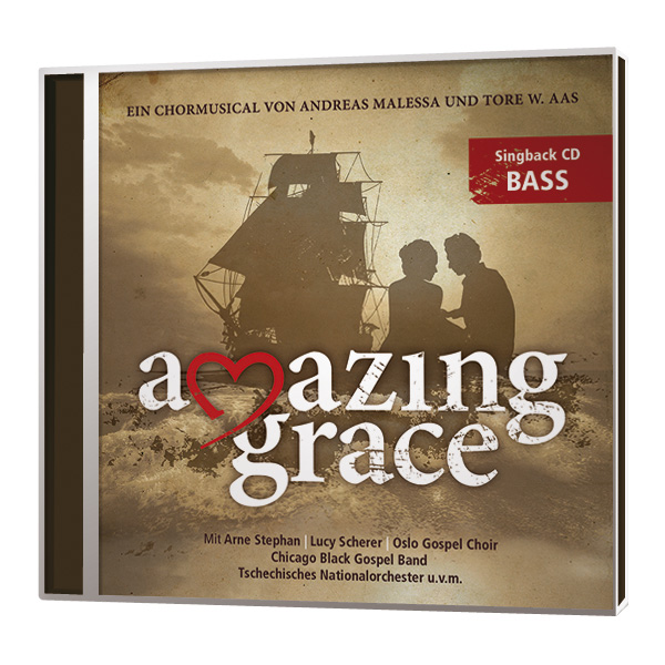 Amazing Grace - Singback-CD - Bass