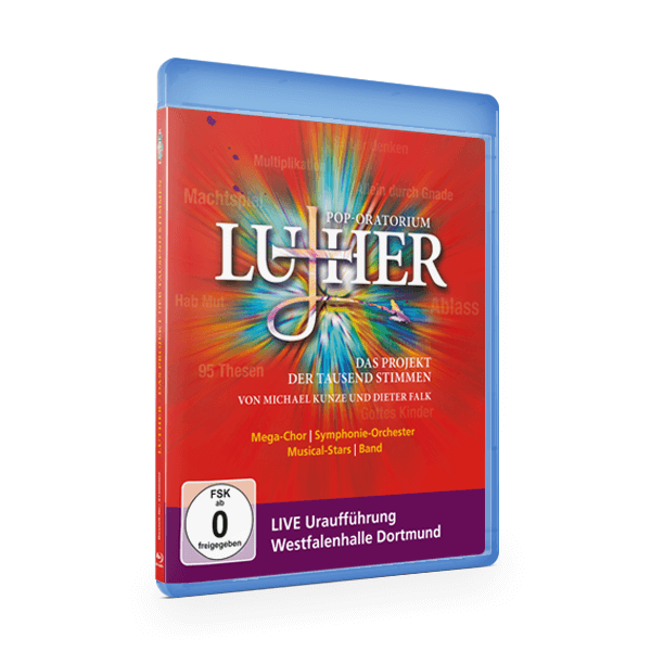 Pop-Oratorium Luther - Live Blu-Ray