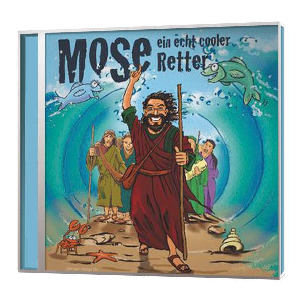 Mose – Ein echt cooler Retter  Playback-CD