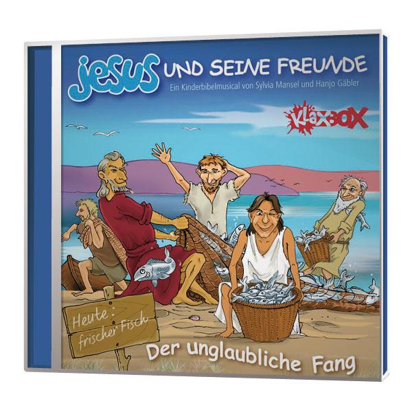 Jesus und seine Freunde – Der unglaubliche Fang Playback-CD