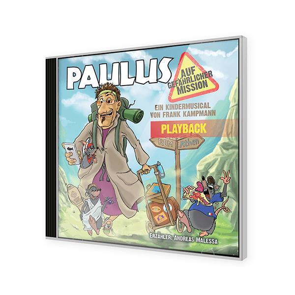 Paulus auf gefährlicher Mission - Playback CD