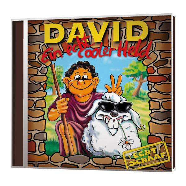 David – Ein echt cooler Held Liederheft