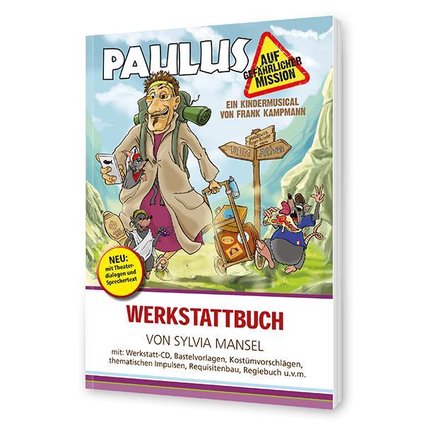 Paulus auf gefährlicher Mission - Werkbuch incl. CD-Rom