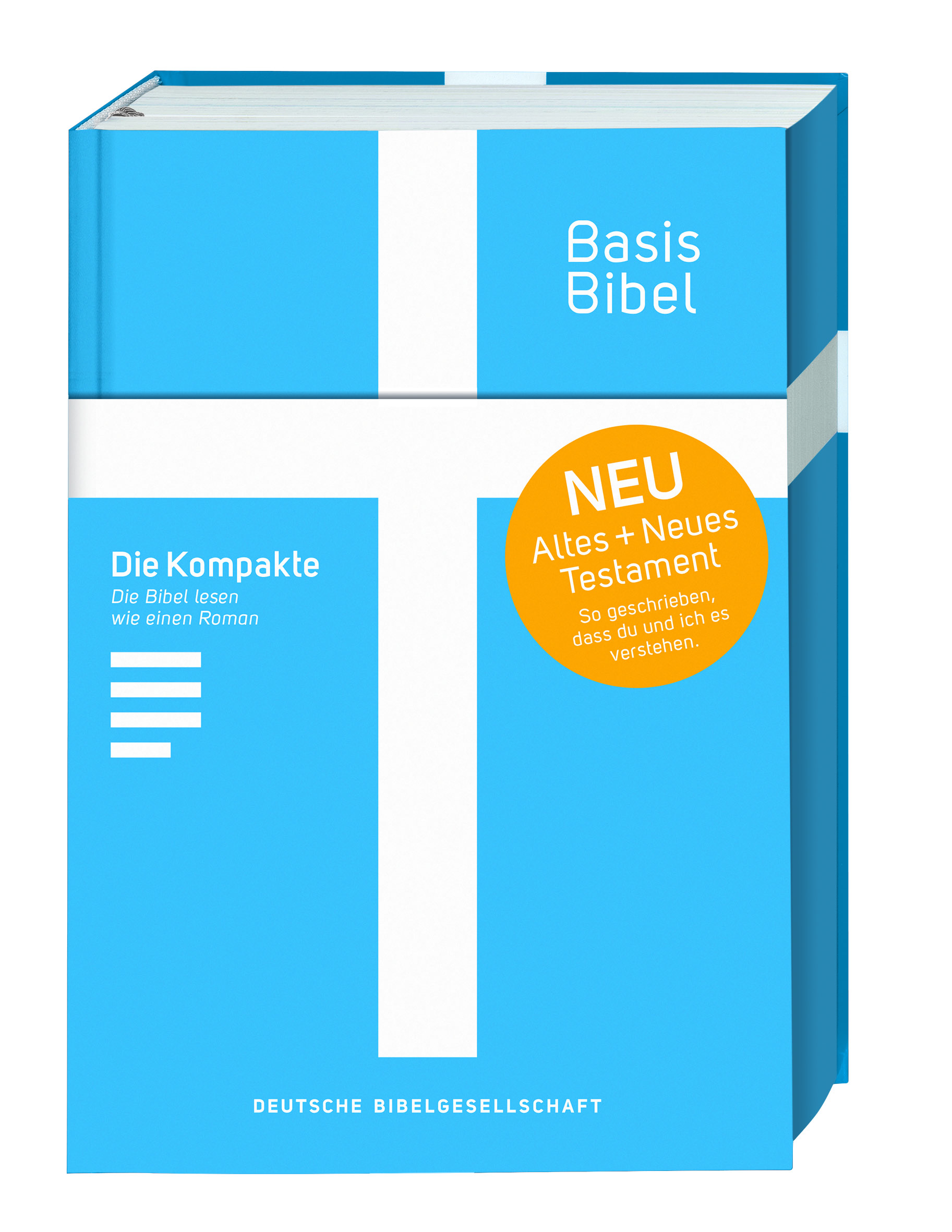 BasisBibel blau - Die Kompakte!