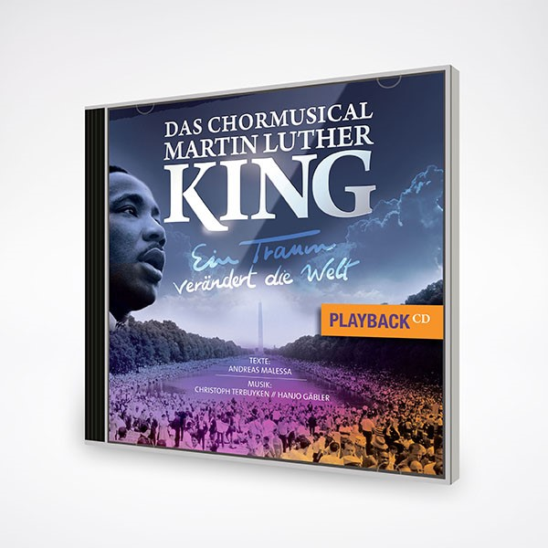 Chormusical Martin Luther King - Playback CD