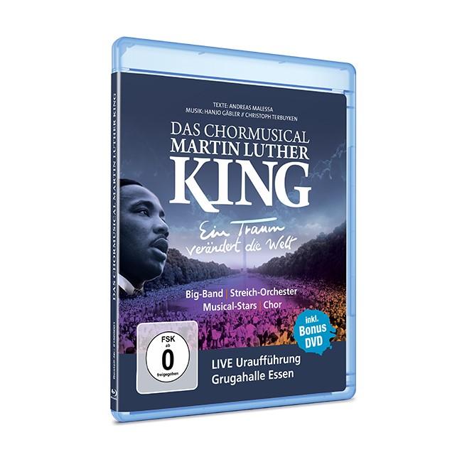 Ein Traum verändert die Welt DAS CHORMUSICAL MARTIN LUTHER KING BluRay